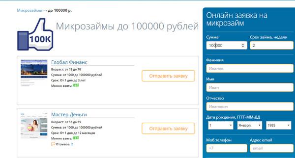 Как взять кредит 100000 инвестируем в российскую недвижимость